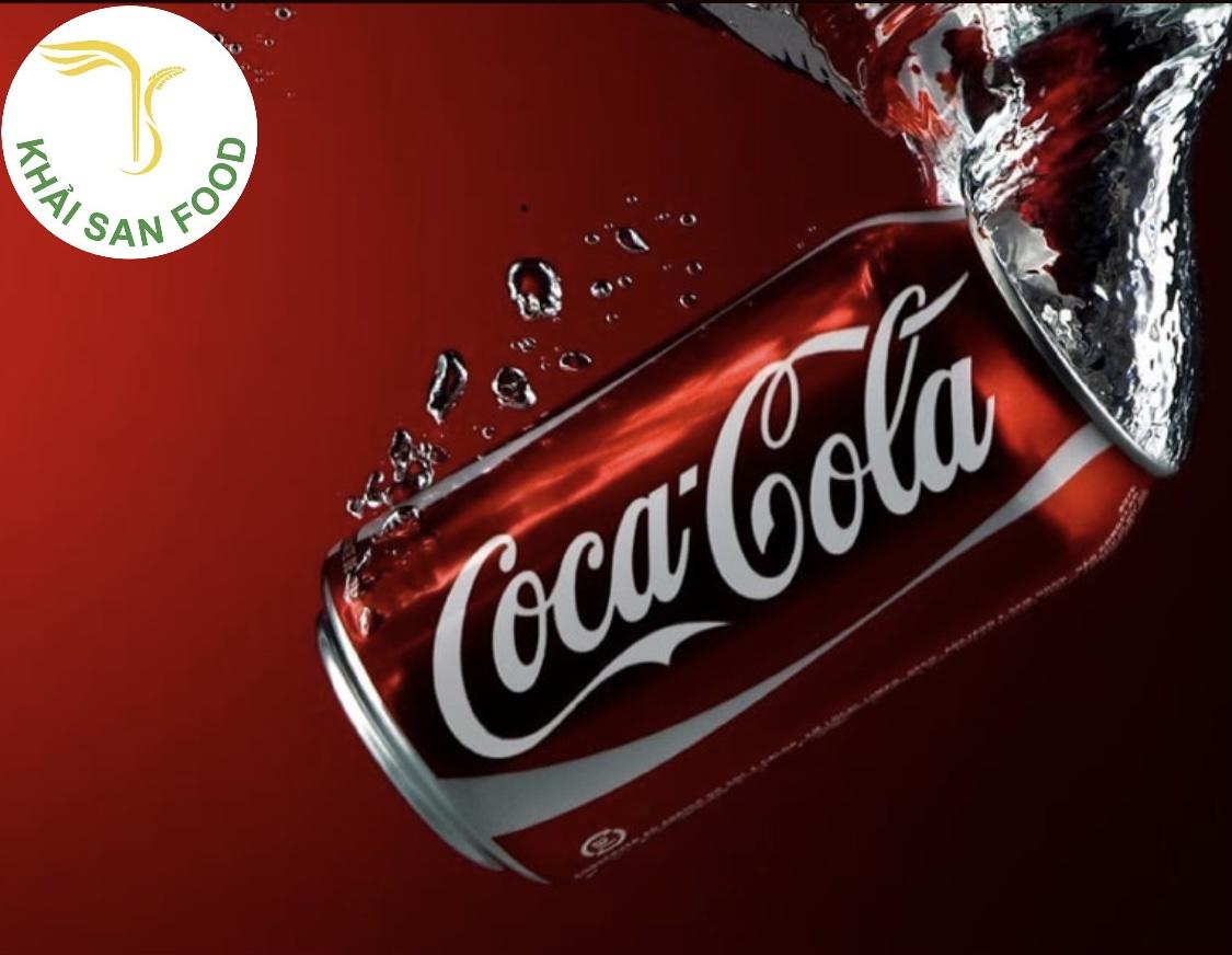 Nước giải khát với mức độ tiêu thụ đứng hạng top là Coca Cola.