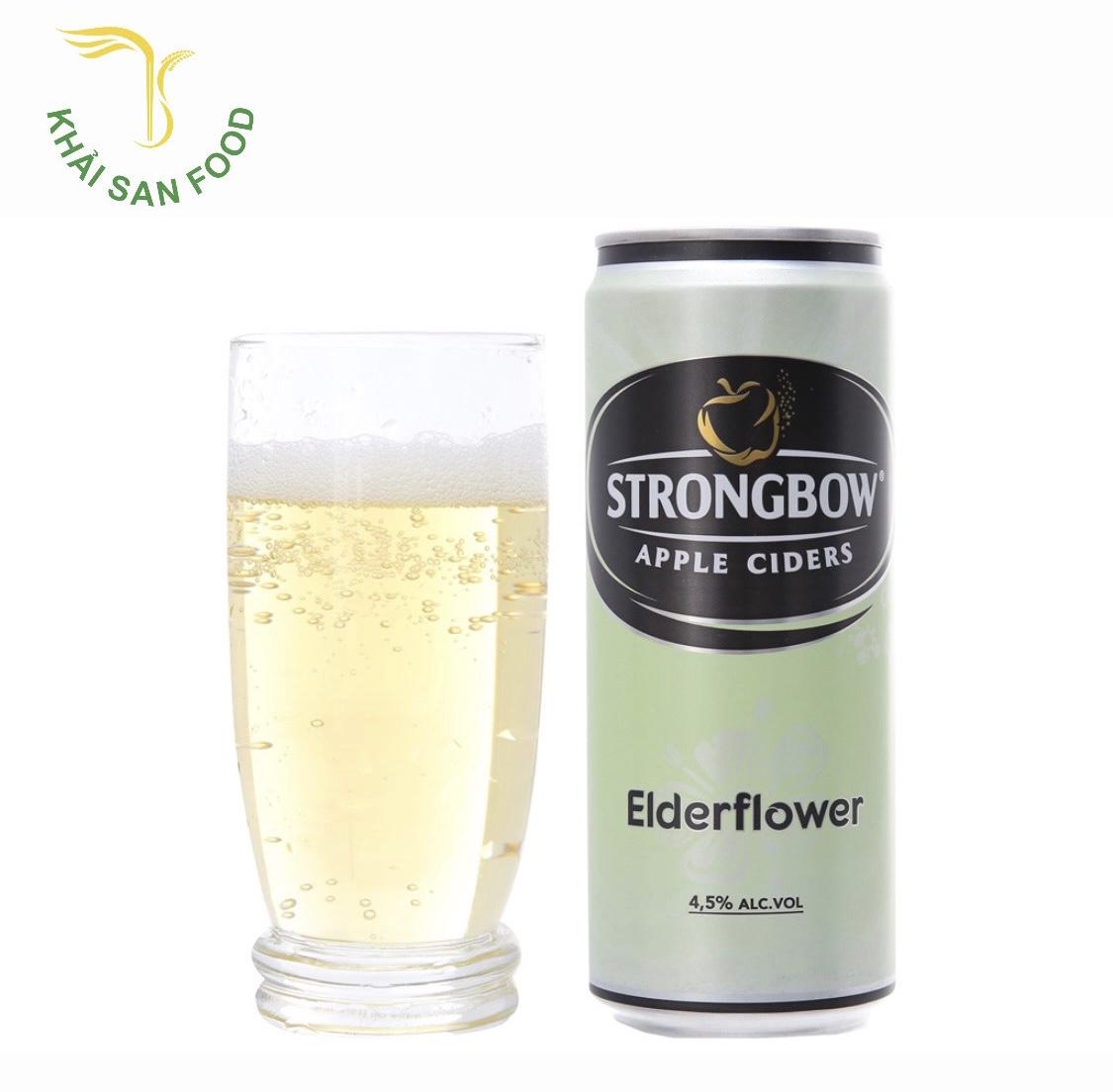 Strongbow hoa Elder là hương đứa con thứ hai của gia đình Strongbow. Strongbow giá sỉ rẻ nhất?