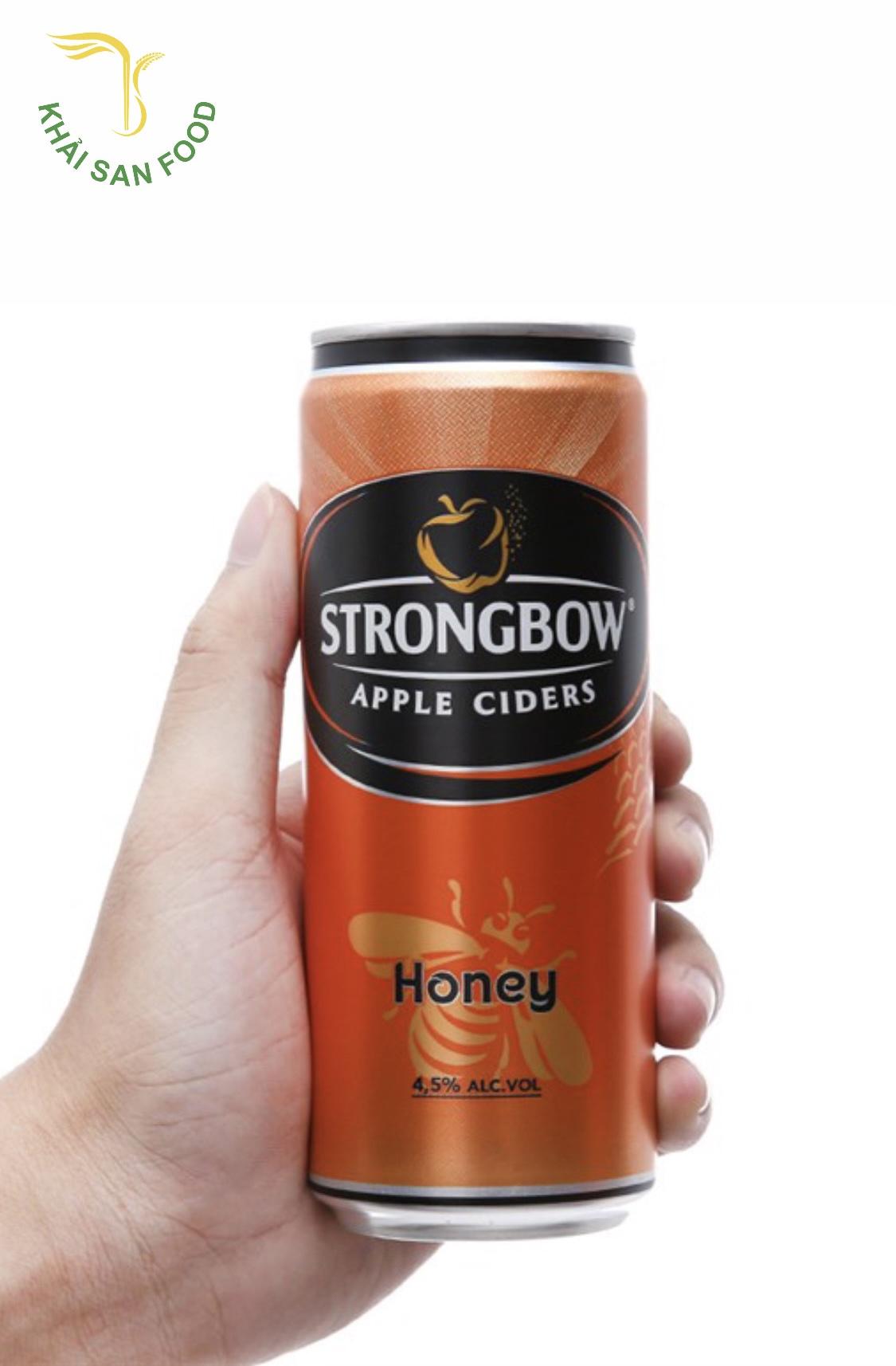Strongbow mật ong là hương vị thứ ba trong dòng sản phẩm này