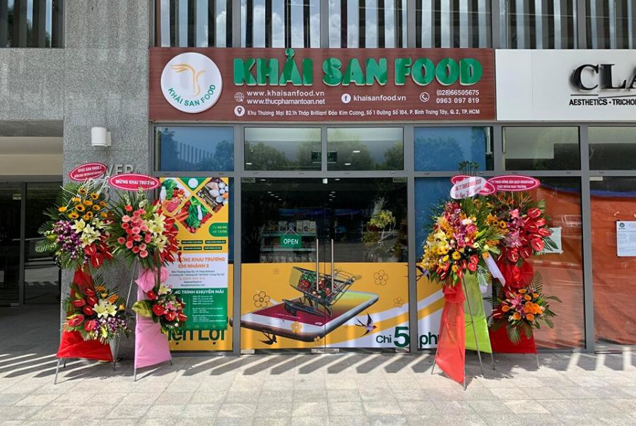 Khải San Food cung cấp các loại thực phẩm chất lượng cho người tiêu dùng