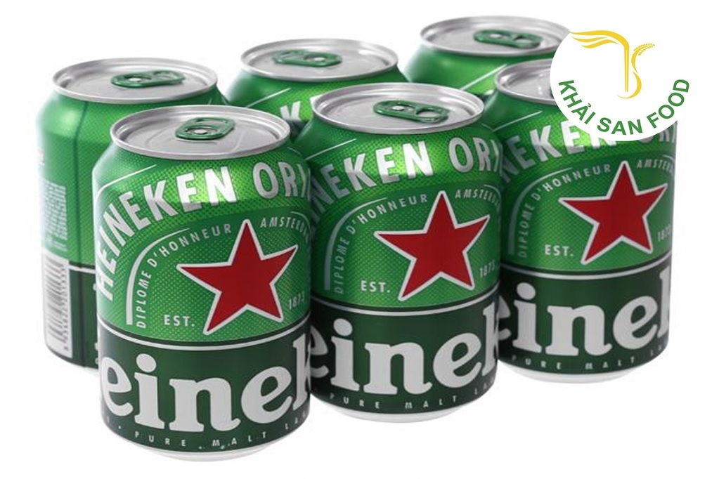 Khải San Food chuyên cung cấp bia heneiken nhập khẩu