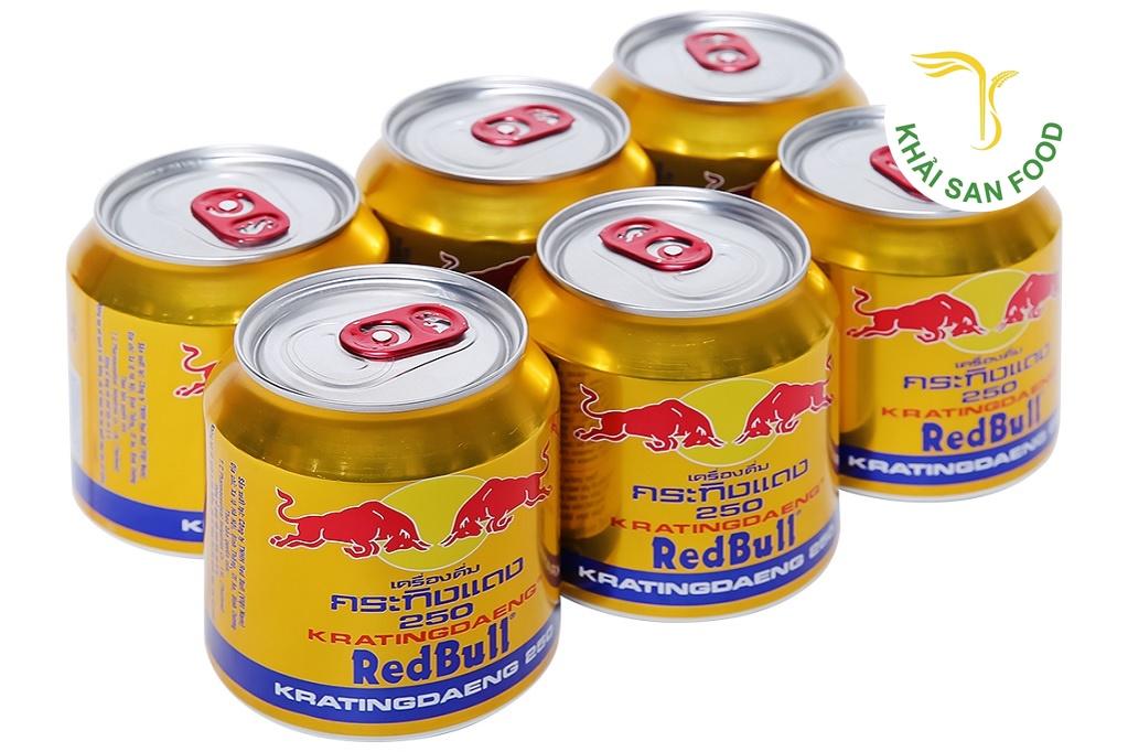 Đại lý nước giaỉ khát Khải San chuyên cung cấp sỉ nước tăng lực Redbull chính hãng