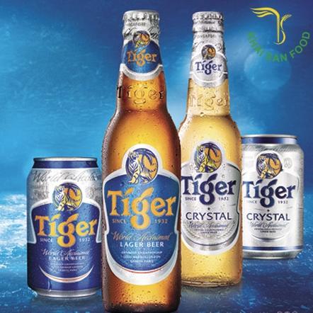 Giá bia Tiger chai lớn bao nhiêu tiền