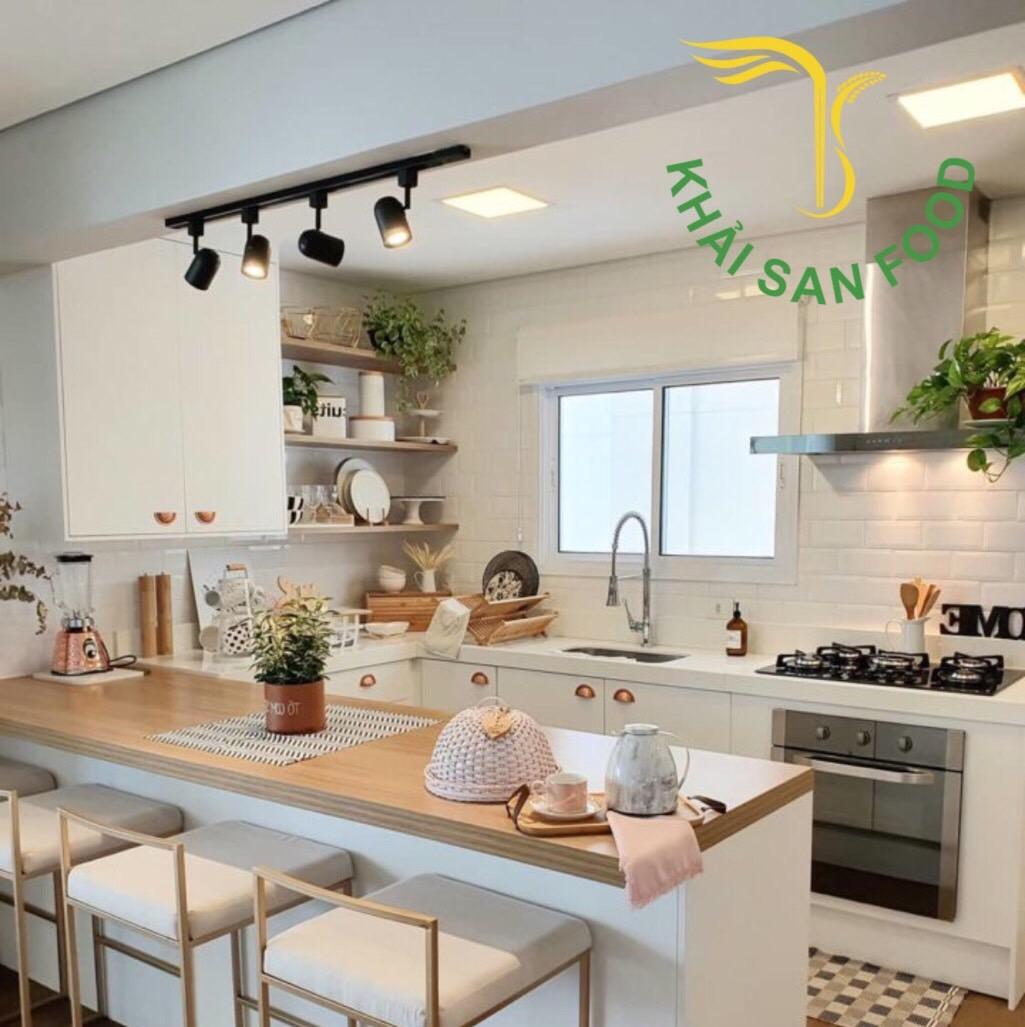 Một gian bếp sở hữu các đồ dùng nhà bếp thông minh sẽ giúp bạn rút gọn thời gian và nâng cao tay nghề nấu nướng nhiều hơn đấy!