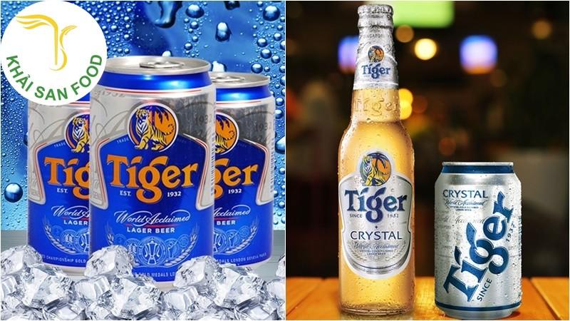 Bia Tiger Crystal - Giá bia tiger bạc bao nhiêu?