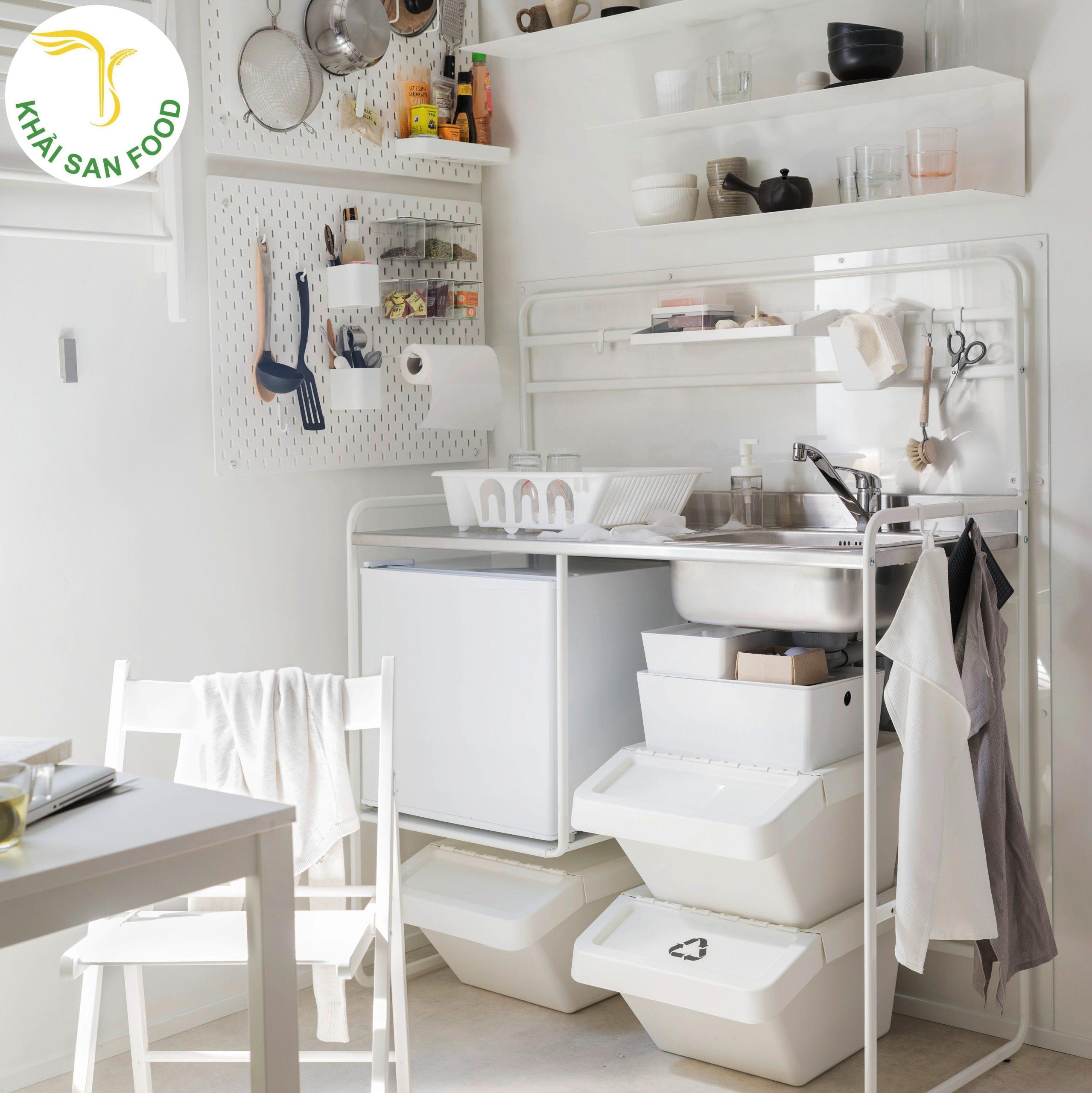 Đơn giản nhưng phải đẹp! Quả thật không chỉ các dụng cụ bếp mà các vật dụng khác cũng vô cùng tinh tế và bắt mắt