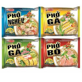 Phở Bò Ăn Liền - Top 7 Thương Hiệu Bán Chạy Nhất Việt Nam