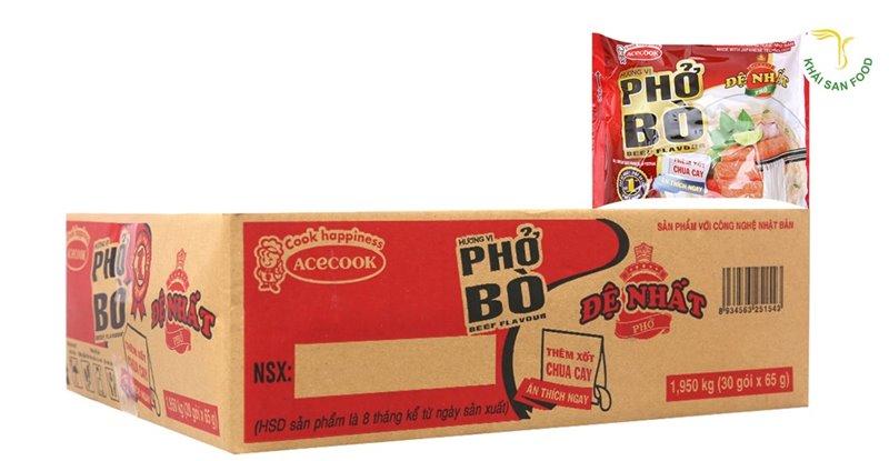 Phở bò Đệ Nhất là một trong những thương hiệu phở bán chạy nhất Việt Nam