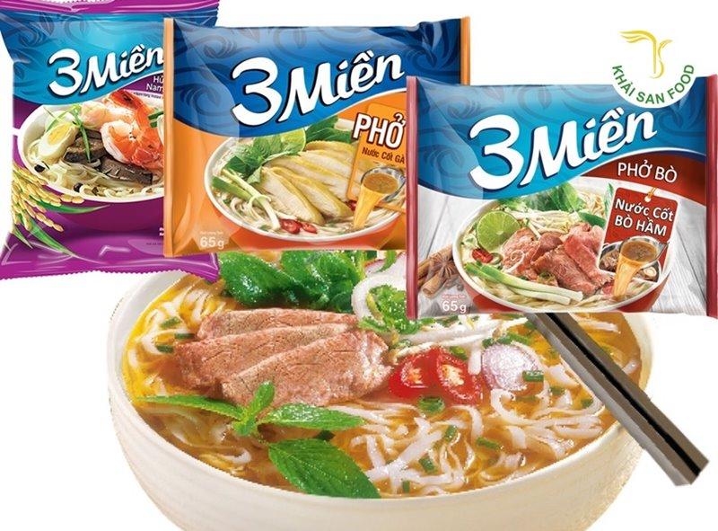 Phở gói Ba Miền - Hương vị của phở Việt