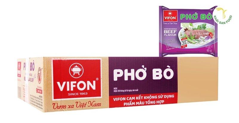 Phở bò Vifon - Phở gói ăn liền bán chạy nhất