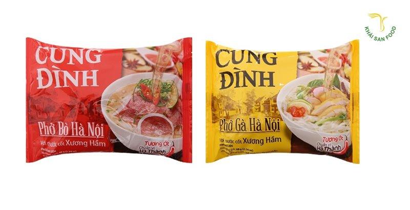 Phở ăn liền Cung Đình - Phở chuẩn vị người Hà Nội